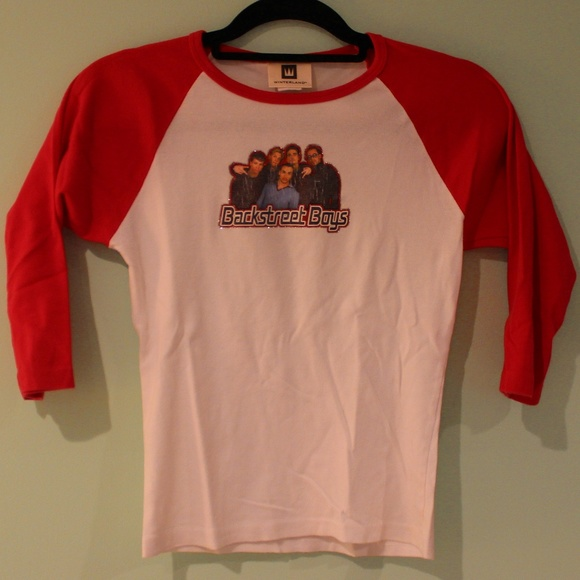 Backstreet Boys Christmas Sweater.Vintage Backstreet Boys Baseball Tee